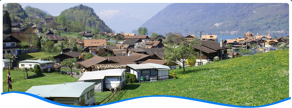Rates Camping Du Lac campgrounds in Iseltwald, Lake Brienz, near Interlaken