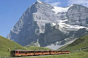 Entdecken Sie Eiger, Mönch und Jungfrau mit den Jungfraubahnen