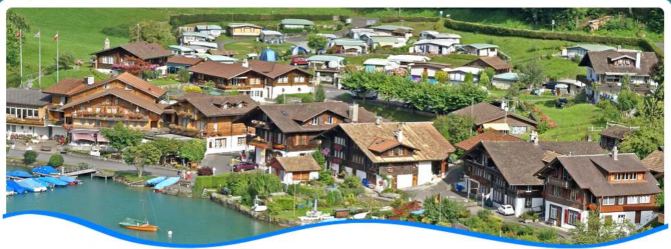 A warm welcome to the Camping Du Lac in Iseltwald near Interlaken!